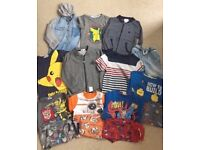 Boys Clothes Bundle - Age 5-6