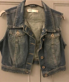 C denim gillet 12