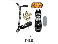 NEW Star Wars electric scooter RRP £149.99