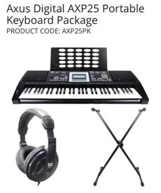 Axus Digital AXP25 Portable Keyboard Package PRODUCT CODE: AXP25PK