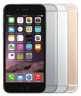 APPLE IPHONE 6 16GB, 32GB, 64GB, 128GB SPACEGRAU, SILBER, GOLD - WIE NEU - WOW