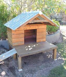 Large Dog/Pet Kennel/House All timber with tin roof Brightview Somerset Area Preview
