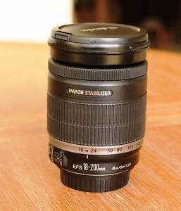 Canon EF-S 18-200mm f/3.5-5.6 IS - THE Ideal Travel Lens! Joondalup Joondalup Area Preview