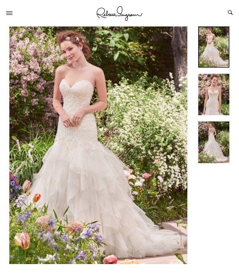 Rebecca Ingram (Maggie Sottero) Wedding Dress