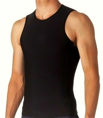 Pullover Wetsuit Vest 3mm Neoprene Non Zip No Zipper Black Top Jacket (Neoprene Mens Jacket)
