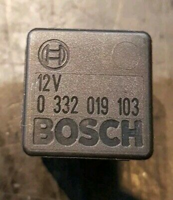 0332019103 BOSCH RELAY BODY ELECTRONICS BRAND GENUINE PART CITROEN C4 PEUGEOT 30