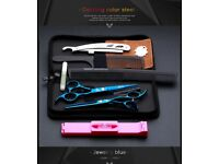 Brand New Professional Salon Hair Thinning Styling Scissors Set