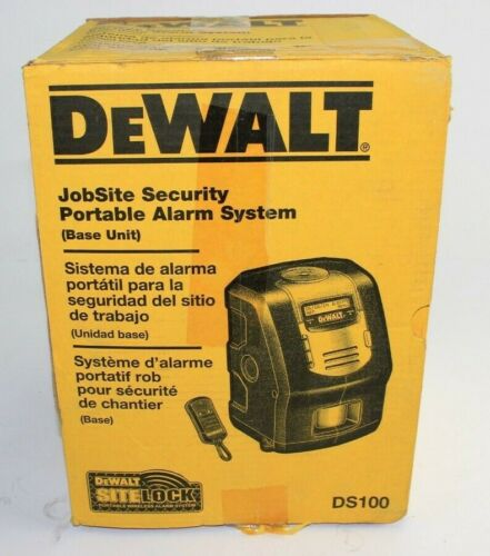 DeWalt DS100 Sitelock Portable Container Security Alarm System Base MG