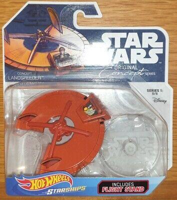Hot Wheels Star Wars Starships Original Concept Series Landspeeder