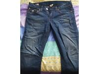 Genuine True religion jeans Mens 33/32 (Ricky big t)