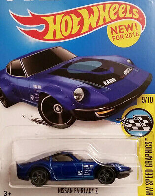 2016 - HOT WHEELS - NISSAN FAIRLADY Z - HW Speed Graphics - Card #184 -Free Ship