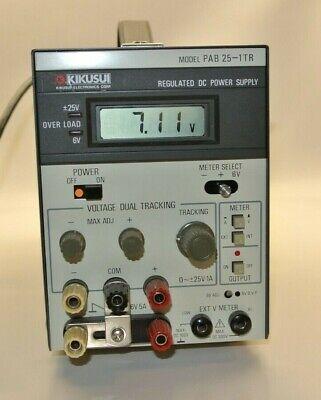 Kikusui Pab 25-1tr Regulated Dc Power Supply