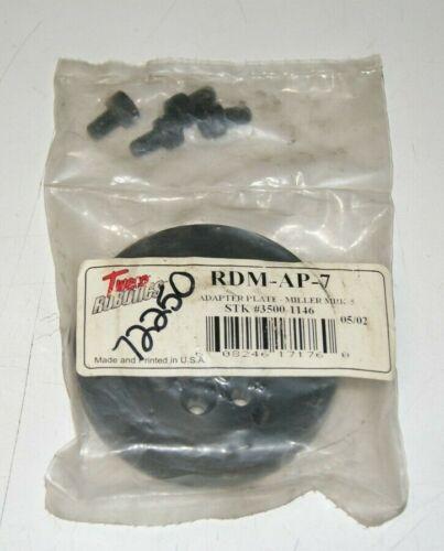 Tweco RDM-AP-7 Adapter Plate Miller MRK-5 3500-1146