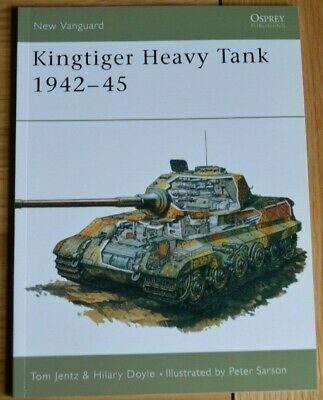 Osprey New Vanguard 1 King Tiger Heavy Tank 1942-45