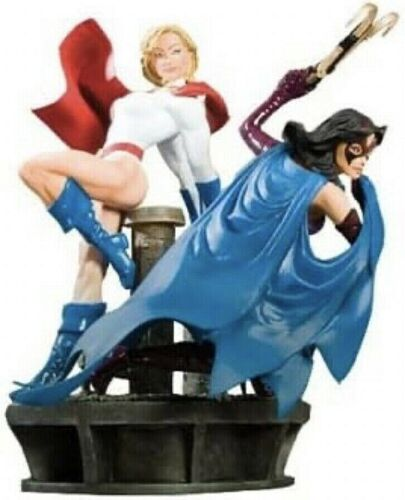 DC Comics POWERS GIRL & HUNTRESS Legacy Statue New