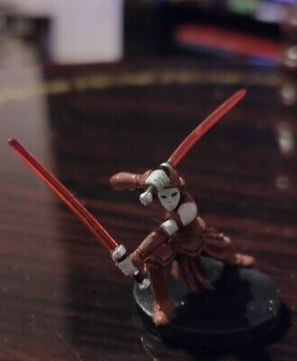 Star Wars Miniatures - Dark Side Acolyte 34/60 + Card - Clone Strike Free P&P