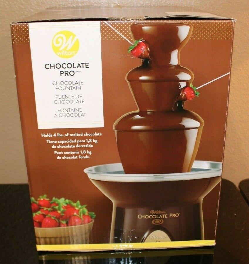 Wilton Chocolate Pro Chocolate Fountain - Chocolate Fondue F