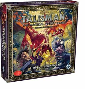 Talisman 4th Edition Board Game - The Cataclysm