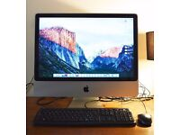 Apple iMac 24inch 3.06ghz Duo2Core 4 gig RAM. 1TB hard drive 512mb graphics
