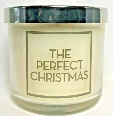 *New* THE PERFECT CHRISTMAS ~ 4 oz. Single Wick Candle ~ Bath & Body Works ()