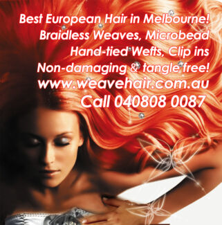 Sew in hair extensions full head advanced weave method hair extensions melbourne from 249 weaves microbeads clip ins pmusecretfo Choice Image