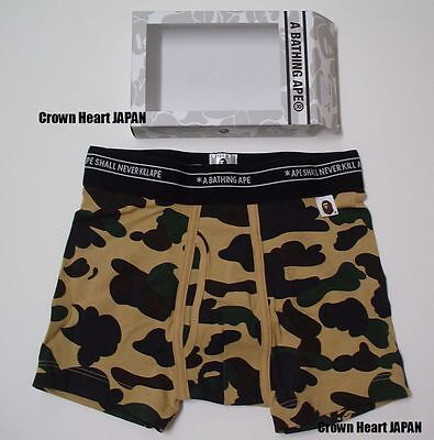 A BATHING APE 1ST CAMO TRUNKS Men