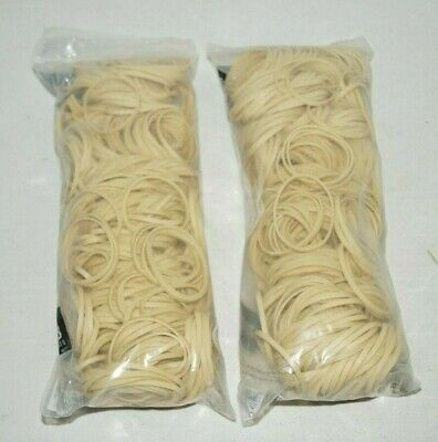 2 Pounds Of Rubber Bands- 2 Packs Of Nib 1 Lb Bags 32 3 X 18 Bands