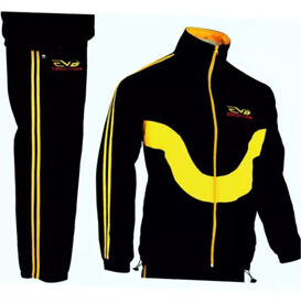 Men's EVO Fitness Tracksuit/Jogging Suit Medium