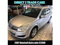 2007 Vauxhall Astra Auto