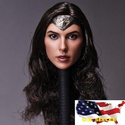 Hot Female Superheros (1/6 Gal Gadot female head wonder woman SUPERHERO phicen hot toy ❶USA IN)