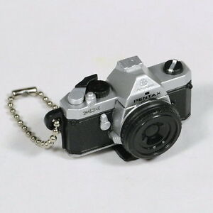 Takara Tomy ARTS Gashapon Pentax Camera Miniatures Figures 1:3 MX Silver