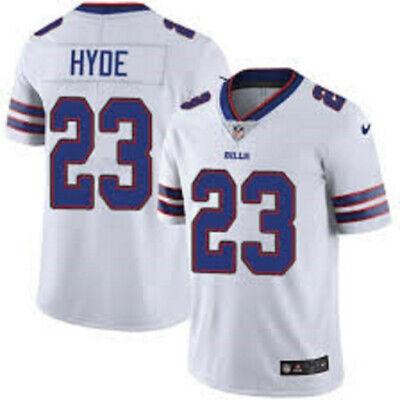 HYDE camiseta de la NFL BILLS color blanca.Talla L.