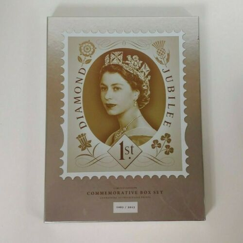 Pyramid Queen Elizabeth II Diamond Jubilee Limited Edition Commemorative Box Set