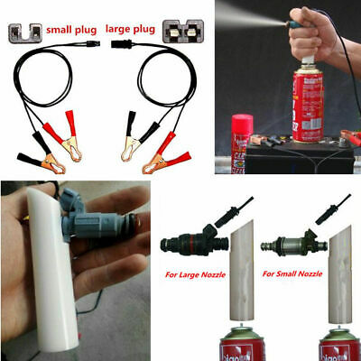 Auto Car Vehicles Tool Universal Fuel Injector Flush Cleaner Adapter DIY Kit...
