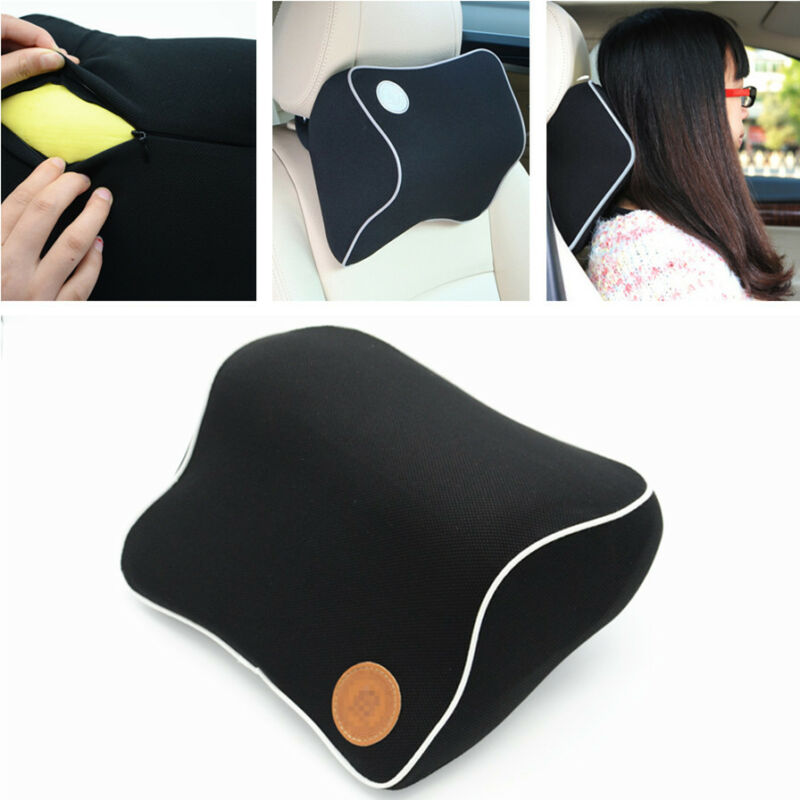 Space Memory Foam Neck Pillow Neck Rest Support Comfort Pillow Car Headrests Pad