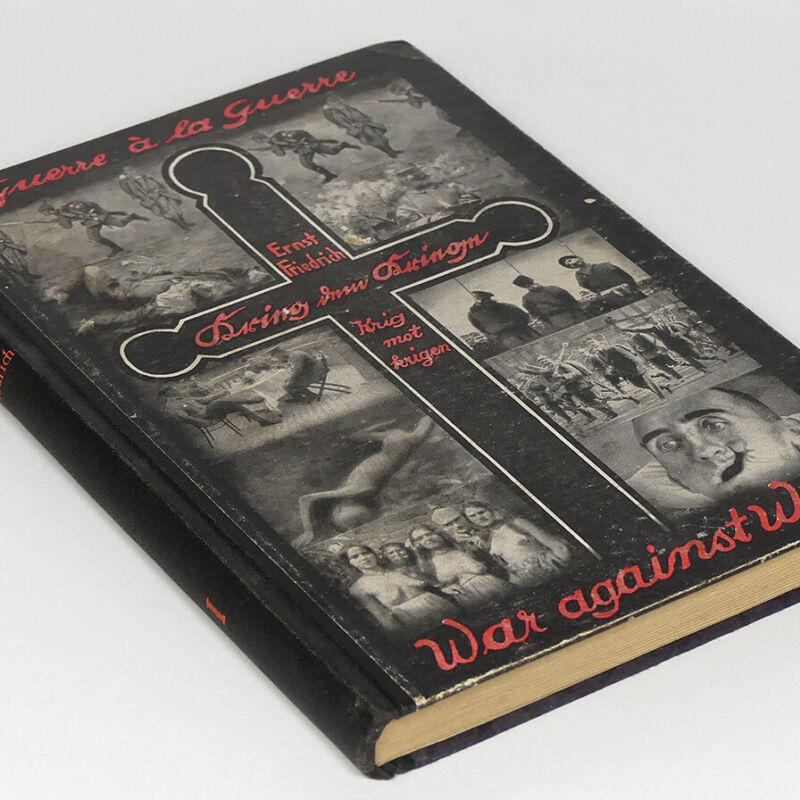 Shocking Horrendous WW1 Anti War Photo Book w/100 picture WWI German 1926 France