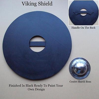 Viking /Celtic /Barbarian Round Warrior Shield - Perfect For Costume & Stage