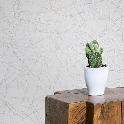 - Vinyl Wallpaper Beige Ivory Cream Plain Faux Grasscloth plaster textured roll 3D