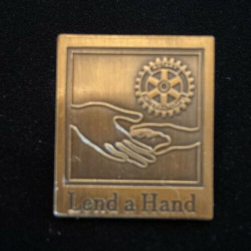 Rotary International Pin LEND A HAND 2003-04 Theme