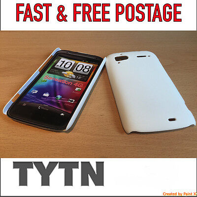 HTC SENSATION 4G WHITE CASE / COVER FOR G14 Z710E G18 Z715E * UK SELLER *  ()