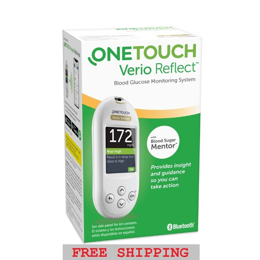 OneTouch Verio Reflect Meter - Blood Glucose Monitoring Kit