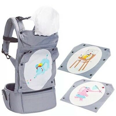 Mo+m Fashion Convertible Sling Baby Carrier w/ Interchangeable Design Panels Baby Carrier Panel