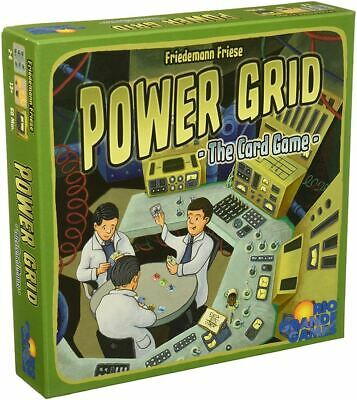 Rio Grande Games Power Grid el Juego de Cartas