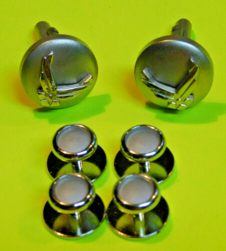 Air Force Cuff Links Studs Eagle Device