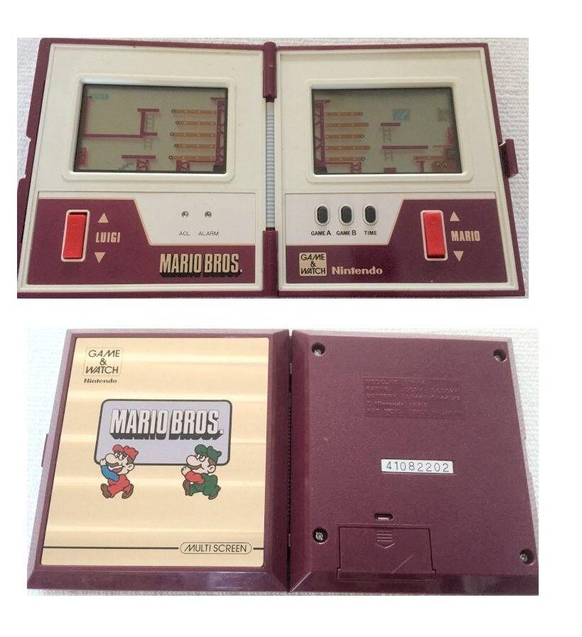 vintage nintendo handheld collectors electronic games excel