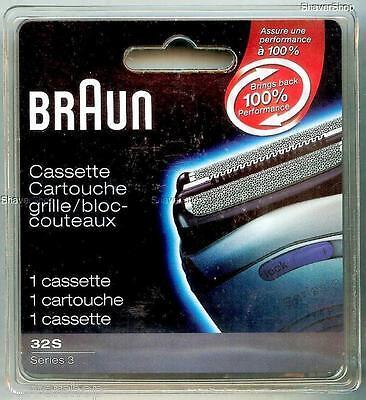 Braun 32s Series 3- 390cc 390 380 370 360 Shaver/razor Foil+cutter Cassette