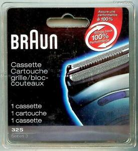NEW-BRAUN-32S-SERIES-3-390CC-390-380-370-360-Shaver-Razor-FOIL-CUTTER-CASSETTE