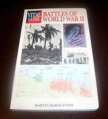 BATTLE OF  WORLD WAR II Battles Axis Allied Warfare Pacific Europe WWII Book NEW