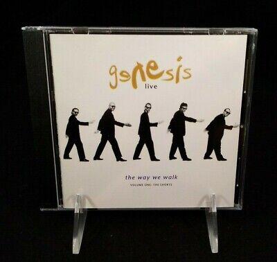 Genesis - Genesis Live: The Way We Walk, Vol 1 The Shorts (CD) 1992,