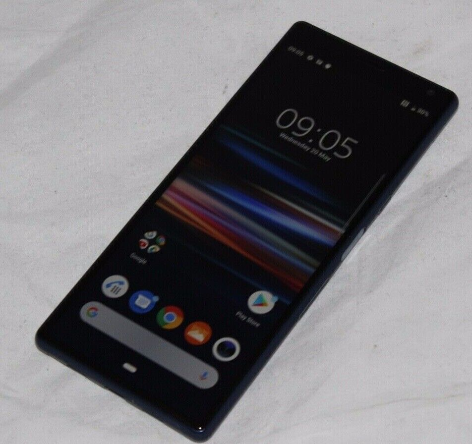 Android Phone - Sony Xperia 10 - 64GB - Black (Unlocked) (Single SIM) Mobile Phone Android